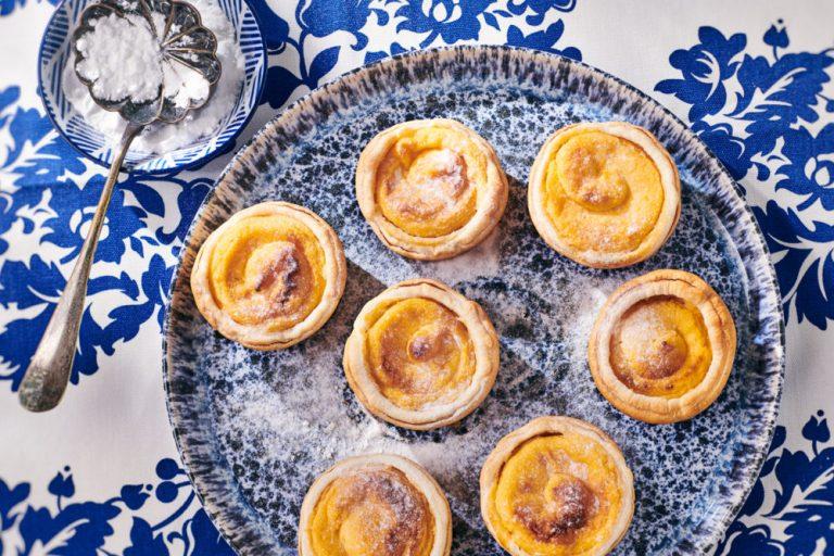 世界のお菓子:ポルトガルで人気のエッグタルト『パステル・デ・ナタ』